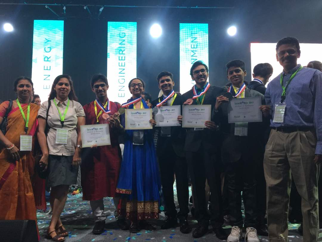Indian Students Shine at I-SWEEEP